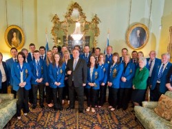 Curling Reception Bute House