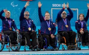 ParalympicsGB Wheelchair Curling Team