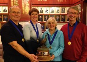 Scottish Curling Senior Mixed Championship - credit Gail Munro