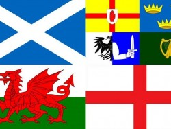 Four Nation flags