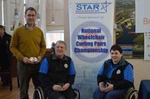 Star Refrigeration National Wheelchair Curling Pairs Championship