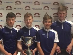 Asham Under 21 Slam Lockerbie Boys Winners