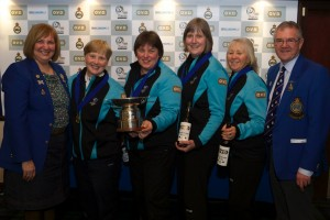 2015 OVD Scottish Senior Women Champions Presentation ©Richard Gray