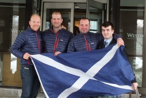 Scots arrival