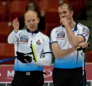 Duncan Fernie returned as third player against Sweden