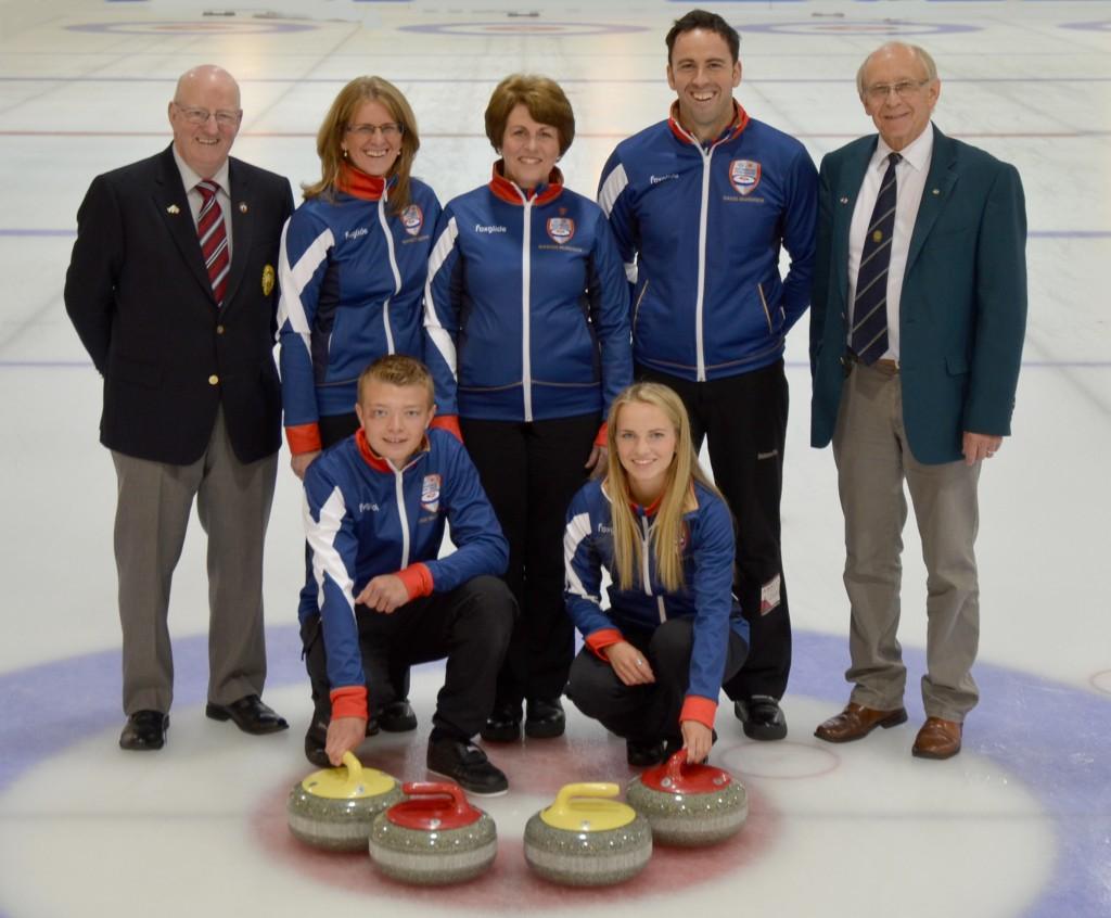 Matt Murdoch Curling Foundation Group Photo Credit Brad Askew Photography