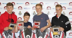 Asham Under 14 Slam Forfar Winners