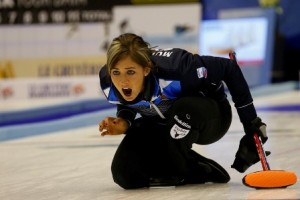 Eve Muirhead now faces Finland in Thursday evening's semi-final