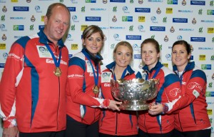 2016 Scottish Curling Women's Champions Team Muirhead © Brian Battensby