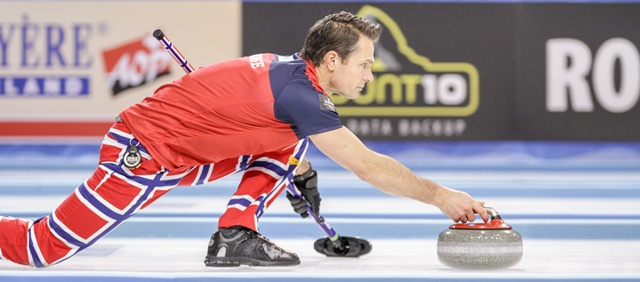 Thomas Ulsrud's Norwegians are through to meet the defending champions Sweden in Saturday's Final.